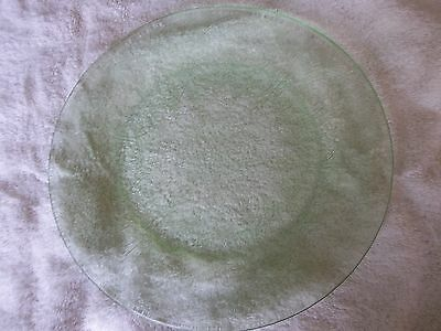 "Rare Indiania Depression glass Horseshoe Pattern 111/2 "" Serving Plate"