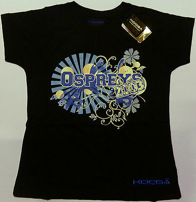 Kooga Ospreys Ladies Supporters Bubble Rugby T-Shirt