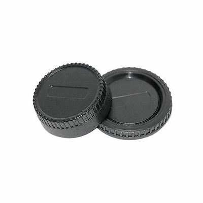 JJC L-R2 Rear Lens + Camera Body Cap Cover for NIKON D90 D300 D700 D3100 D7100