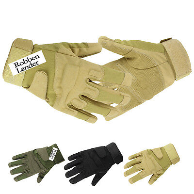 Full Finger Military Tactical Airsoft Hunting Outdoor Motorcycle Mittens Gloves