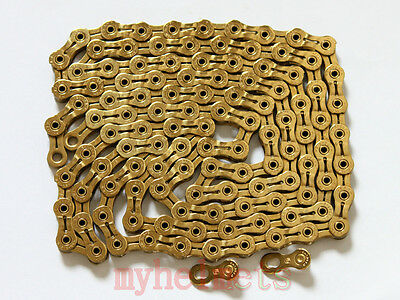 YABAN YBN SLA901 Ti-N Gold 9S 116L Super Chain with Missing Link