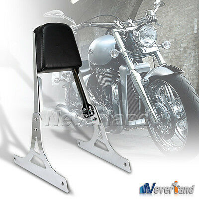 Sissy Bar Backrest Pad For Harley Softail FLSTSC FLSTC FXSTB FXSTS FXST 00-06