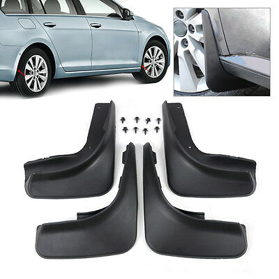 Fit For 2012 11 10 09 Vw Golf 6 Mk6 Hatch Mud Flap Flaps Splash Guards Mudguards