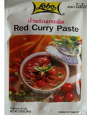 rote Curry Paste original Thailand red currypaste Asia Food gewürzpaste