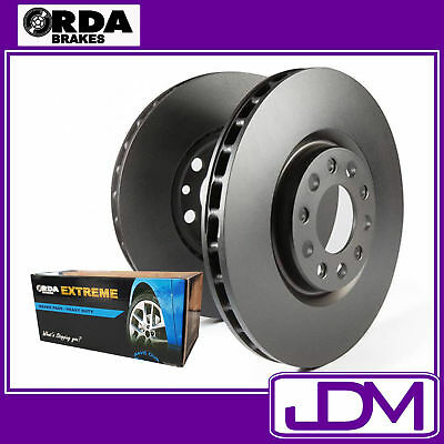 RDA Front Brake Discs & RDA EXTREME Pads Ford Falcon BA, BF, XR6, XR8