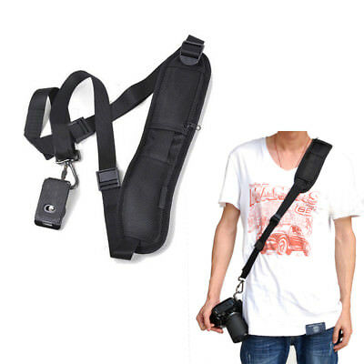 Quick Release Antislip Light Sling Single Neck Shoulder Belt Camera Strap f DSLR