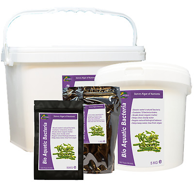Pond Bacteria Treatment for Clear Water HYDRA BIO AQUATIC BACTERIA BOOST 500g