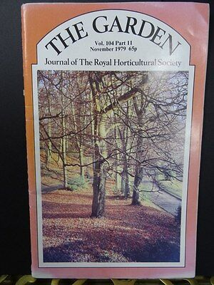 The Garden Volume 104,Part 11 November 1979, By The Royal Horticultural Society.