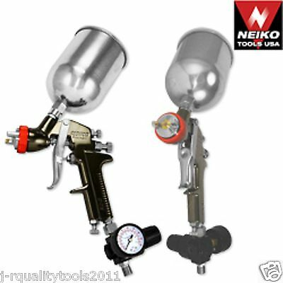 Neiko 2.0mm HVLP Gravity Feed Spray Gun w/ Gauge for Primer