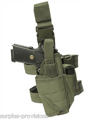 Condor TTLH Tornado Tactical Leg Holster OD Green Adjustable M to L size pistol