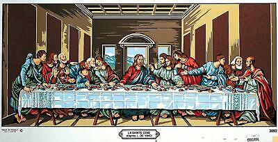 Margot de Paris Tapestry/Needlepoint Canvas –  The Last Supper (La Ste Cene)