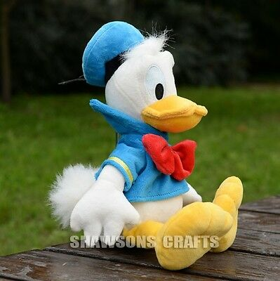 """Disney Mickey Mouse Clubhouse Plush Stuffed Toys Donald Duck 13"""" Soft Doll"""