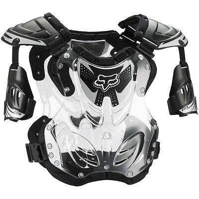 Fox Racing NEW Mx Youth R3 Black Chest Protector Motocross Kids Body Armour