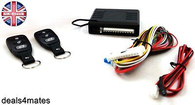 Universal Remote Central Locking Upgrade Kit  Keyless Entry 2 Fobs LED indicator