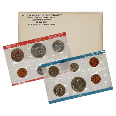1972 United States Mint Uncirculated Coin Set