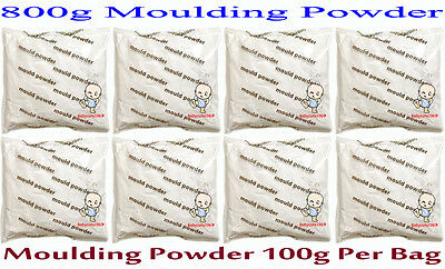 Refill pack for 3D hand and foot print -- 800g Moulding powder