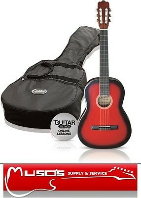 Ashton CG44 Red Classical Guitar package $99 + postage $10 for Greater Sydney