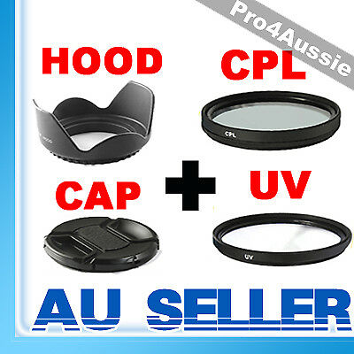 58mm UV+CPL filter+Flower Hood FOR canon 600d 650d 700d 100d ef-s 18-55mm lens