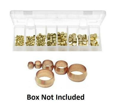 10 x 3/16 Brass Olive Barrel Plumbing Olives Compression Fitting Copper Pipe Gas