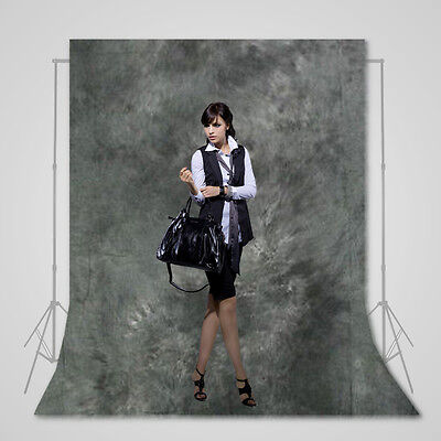 6X9Ft Grey Muslin Backdrop Cotton Screen Photo Background For Photography Studio