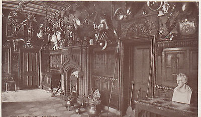 Postcard-Scotland-C1930-View of the Entrance Hall.