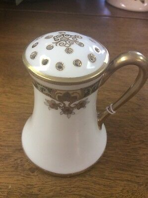 Nippon Hand Painted Sugar Shaker, floral
