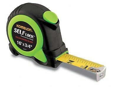 Komelon SL2816 16' Self Lock Tape Measure