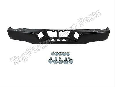 For 2007-2013 TUNDRA REAR STEEL BUMPER FACE BAR BLACK MOUNTING SCREWS KITS