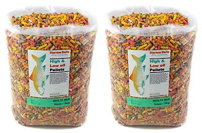 Mixed carp & coarse sinking pellets 10kg bag of 10 different types