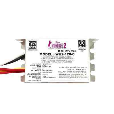 Fulham Workhorse 2 Versatile Solid State Electronic Ballast WH2-120-C 13065