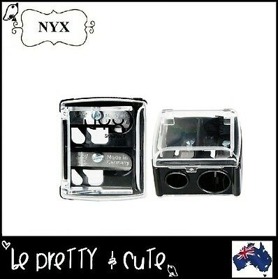 NYX 2-in1 PENCIL SHARPENER for Regular and Jumbo Eye Lip Crayon Pencil (SH) AUS