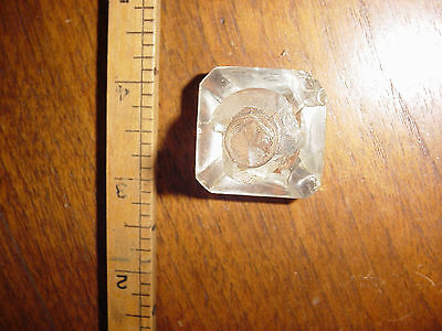 Antique Vintage Glass knob