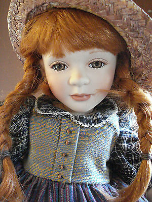 """Show-Stoppers Porcelain Doll """"Cass"""" by Florence Maranuk"""