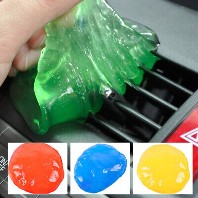 Auto Car Clean Glue Gum Gel Cleaning Air Outlet Vent Dashboard Interior Cleaner