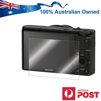 LCD Screen Protector Guard for Sony RX100 IV III II RX1 1R Digital Camera AUS