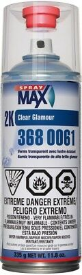 USC 3680061 SprayMax® 2K High Gloss Clearcoat Aerosol 11 oz.