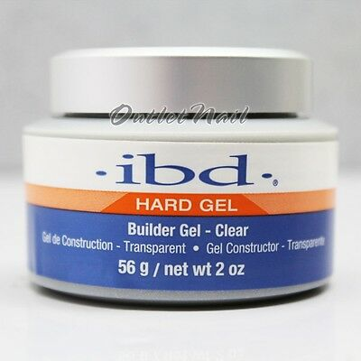 IBD Builder Gel CLEAR 2 oz / 56 gr Item# 60402 Strong UV Gels System - SHIP 24H!
