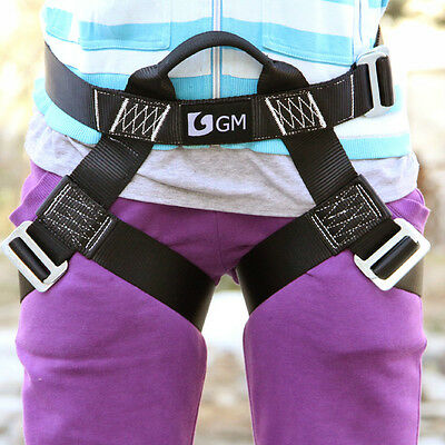 Half Body S Size Harness for Kids Girls Women Climbing Zip Line Rescue Outdoors