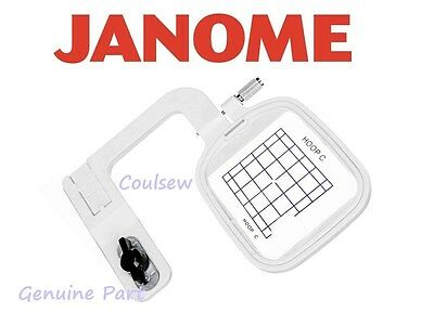 JANOME GENUINE Embroidery Free Arm Hoop C 50x50 MC10001 10000 9700 9500 350E 300
