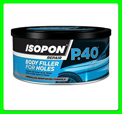 David's Glass Fiber Body Filler Compound [P40S] P40 Bodyfiller Isopon
