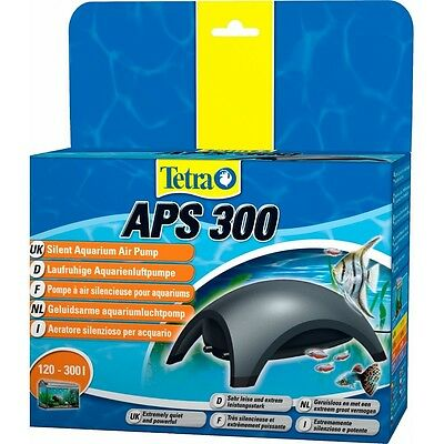 Tetratec Aps 300  Air Pump Twin Outlet Free Post