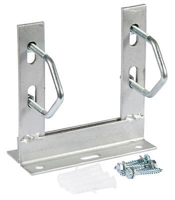 6'' X 6'' Tv Aerial Mast Outdoor Wall Mounting Bracket Galvanised With Fixings