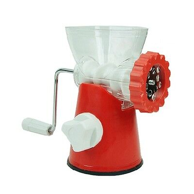 New Plastic Kitchen Meat Grinders Crusher Smash Device Machine Chopping Mincer