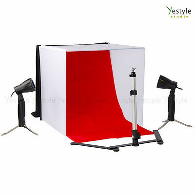 Photography Portable Soft Tent Light Box Mini Tripod Light Backdrop Softbox Kit