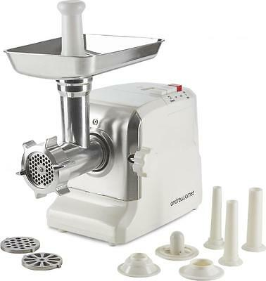 Andrew James Premium Electric Meat Mincer Grinder + Sausage Maker