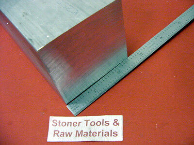 "2-1/2"" X 2-1/2"" ALUMINUM 6061 SQUARE BAR 7"" long Solid Flat T6511 Mill Stock 2.5"