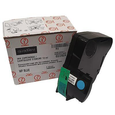 Neopost IS240 IS280 BLUE ORIGINAL Franking ink Cartridge 310048