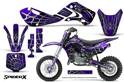 DC GRAPHIC DECAL STICKER /& PLASTIC FENDER KIT FOR KLX110 KLX 110 H DE30+