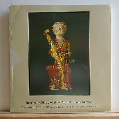 Sotheby's Chinese Works of Art and Paintings Catalog 11/2/1979 Ceramics Bronzes
