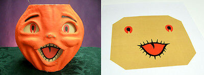 Replacement Glassine Paper Insert For Large Choir Boy Halloween Lantern #j